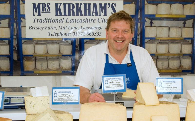 mrs kirkham cheese history